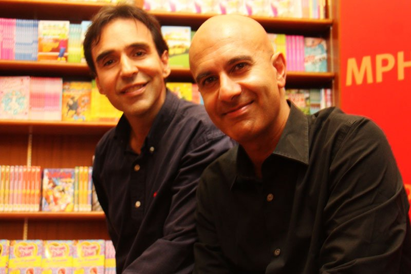 Arthur and Robin Sharma